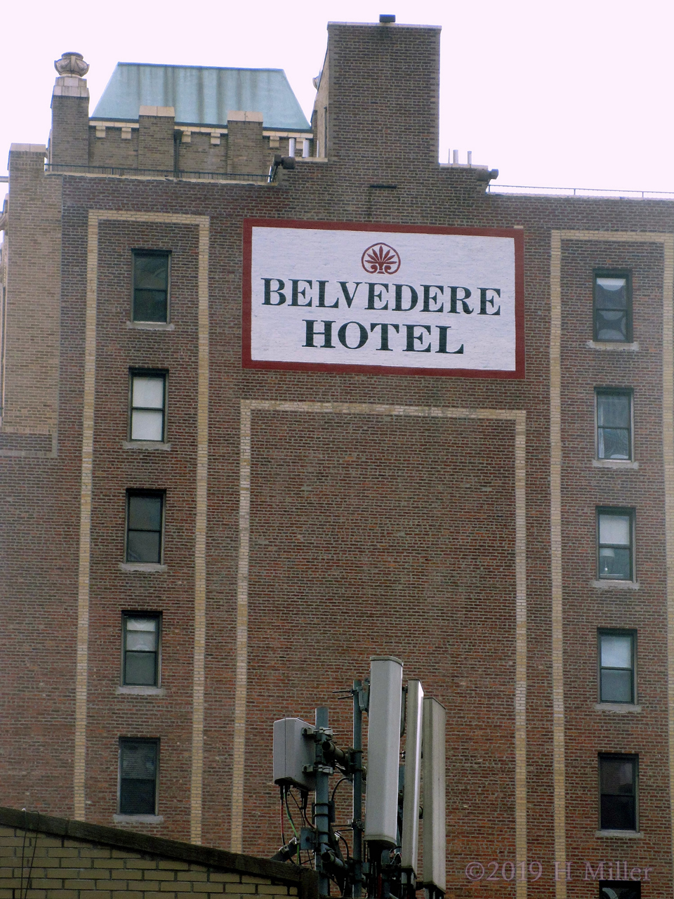 An Outdoor View of the Belvedere Hotel in Manhattan