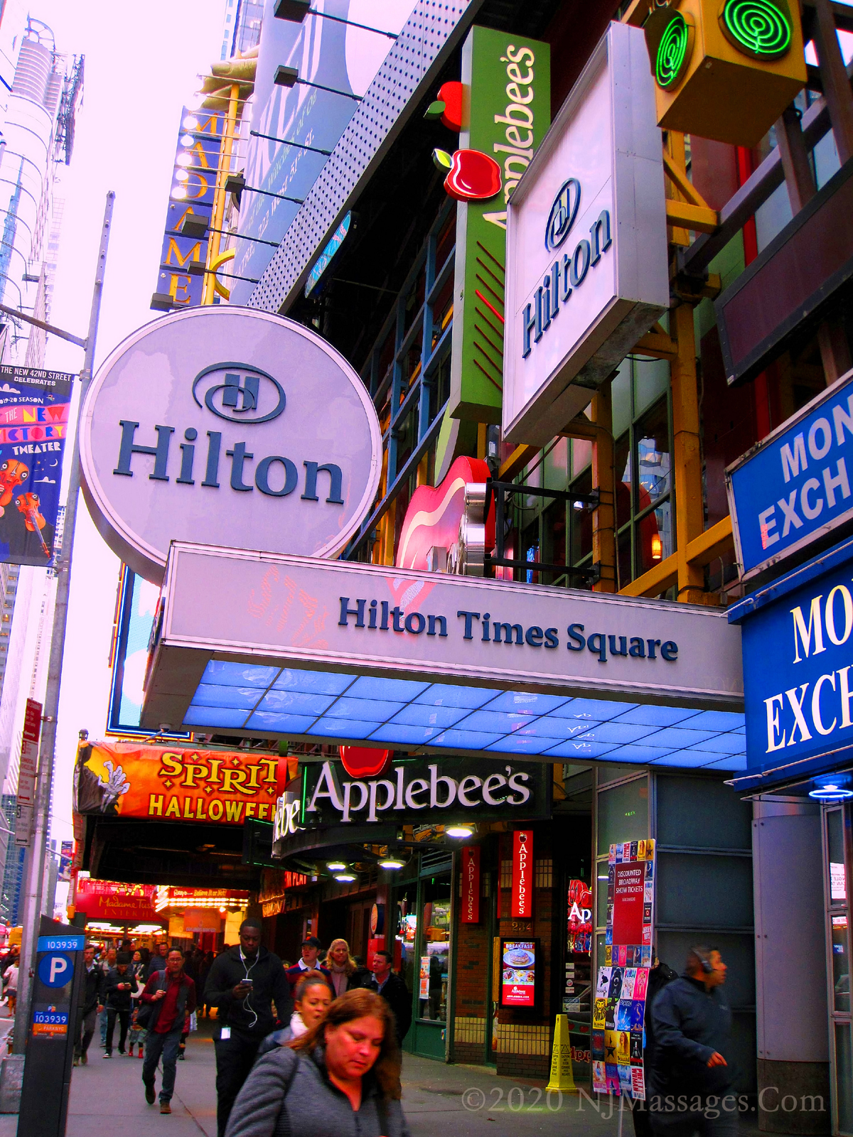 The Hilton Times Square Is A Very POpular Tourist Destination FOr Those Visiting Times Square